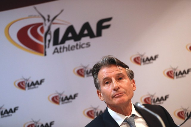 Le président de la Fédération internationale d'athlétisme (IAAF),... (Photo Valery Hache, archives AFP)