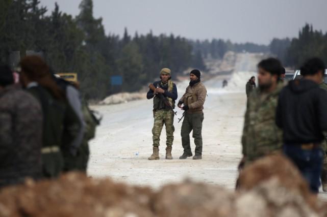 Depuis près de deux mois, Al-Bab est dans... (PHOTO REUTERS)