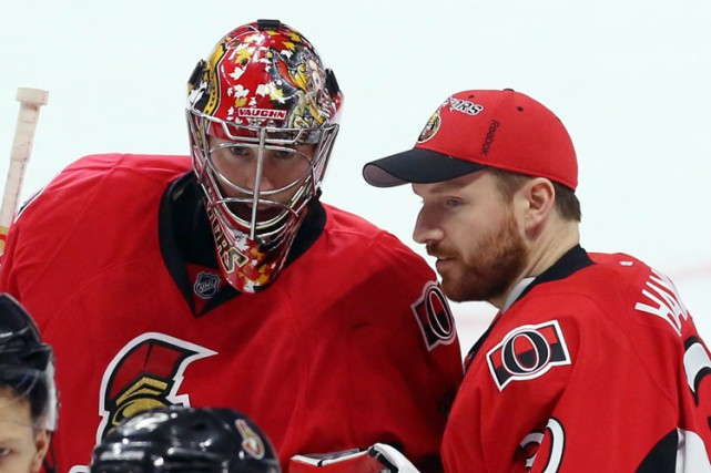 Craig Anderson et Andrew Hammond.... (ARCHIVES PC)