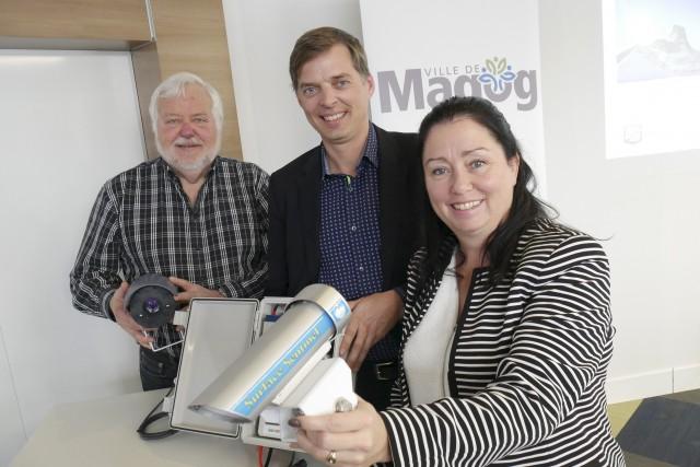 Magog accueillera un projet-pilote de stations météo intelligentes... (Spectre Média, René Marquis)