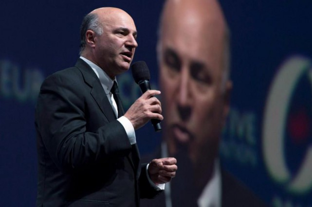 L'homme d'affaires Kevin O'Leary, qui brigue la direction... (Archives La Presse canadienne)