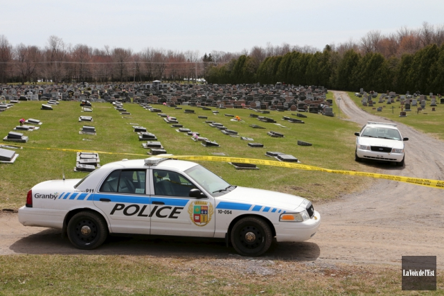 Le 29 avril 2014, vers 13h, un cadavre... (archives La Voix de l'Est)