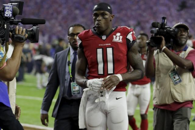 L'un des éléments-clés de l'offensive des Falcons d'Atlanta,... (AP, Mark Humphrey)