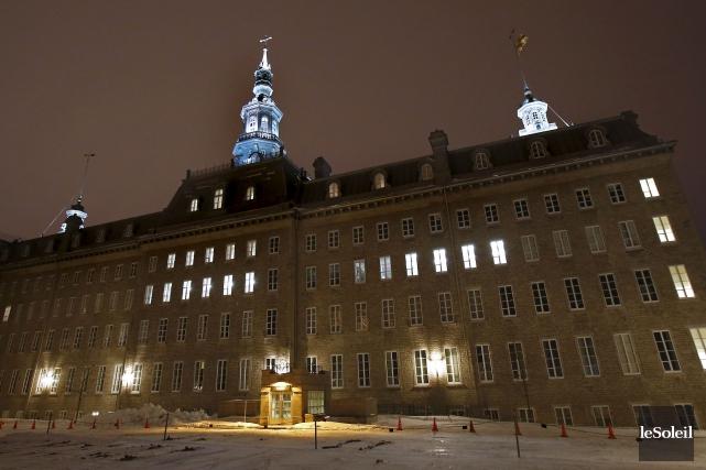 La direction du Collège François-de-Laval avait sollicité une... (Photothèque Le Soleil, Yan Doublet)
