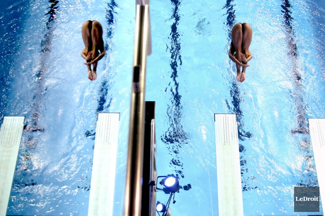 Une compétition de plongeon qui devait avoir lieu... (Patrick Woodbury, archives Le Droit)