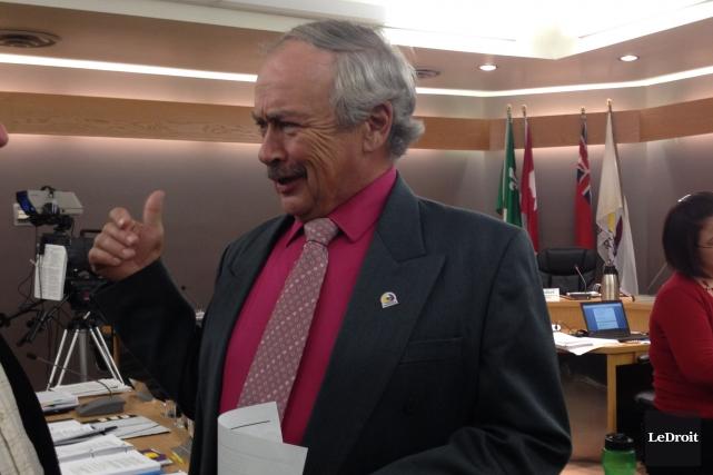Guy Desjardins, le maire deClarence-Rockland... (Archives, Le Droit)
