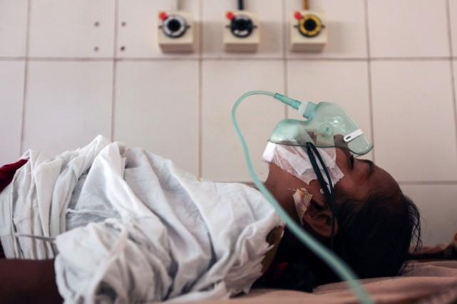 «L'opération a été réussie. Nous avons enlevé les... (Photo Agence France-Presse/STR)