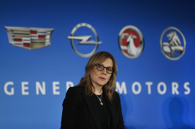 Mary Barra, PDG de General Motors.... (AP)