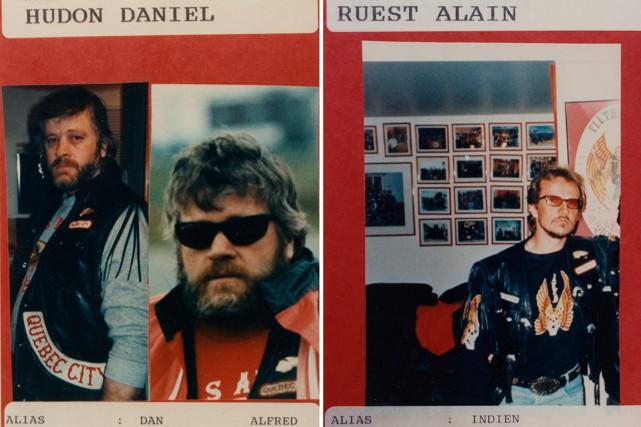 Daniel Hudon et Alain Ruest figurent sur ces...