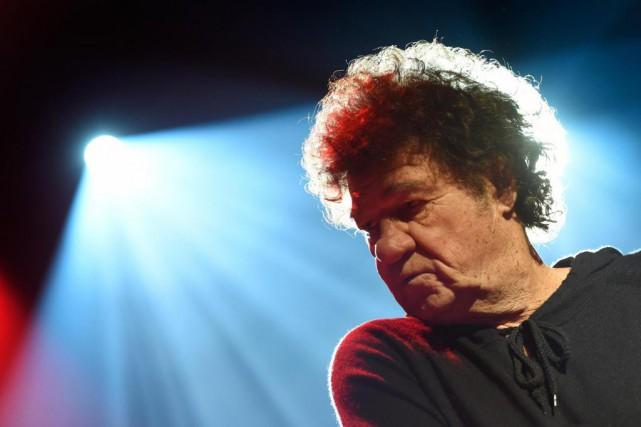 Robert Charlebois présentera un spectacle entièrement rock au... (Photo Bernard Brault, Archives La Presse)