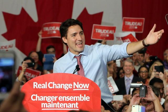 Justin Trudeau a promis en campagne électorale, puis... (Fred Chartrand, archives PC)