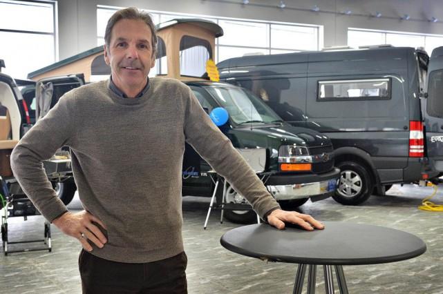 Pierre Harvey travaille aujourd'hui notamment pour le manufacturier... (Photo Patrice Laroche, Le Soleil)