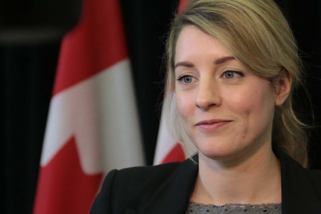 Mélanie Joly... (Photo Étienne Ranger, archives Le Droit)