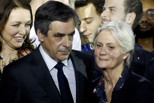 Francois Fillon et Penelope Fillon.... (ARCHIVES REUTERS)