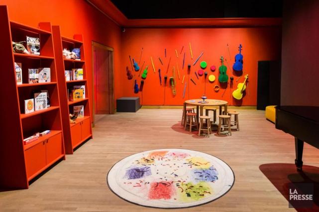 Le Musée des beaux-arts de Montréal a créé... (Photo Édouard Plante-Fréchette, La Presse)