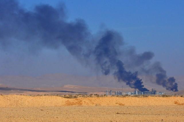 L'OSDH a indiqué que les raids avaient été... (PHOTO AFP)