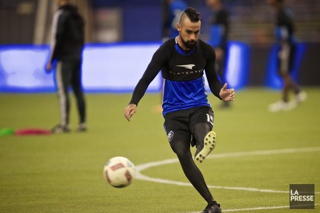 Andrés Romeron'a pas participé à un match régulier... (Photo André Pichette, archives La Presse)