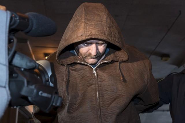 Pierrot Lapierre a passé la nuit en détention.... (Spectre Média, Jessica Garneau)