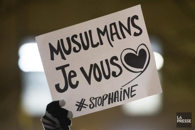 ÉDITORIAL / Moins de deux semaines après l'attentat dans une mosquée de Québec,... (Archives, La Presse)