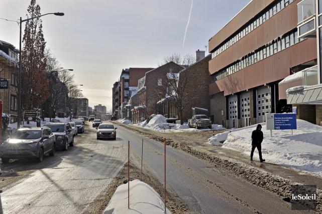 La Ville de Québec profitera de ses travaux... (Le Soleil, Patrice Laroche)