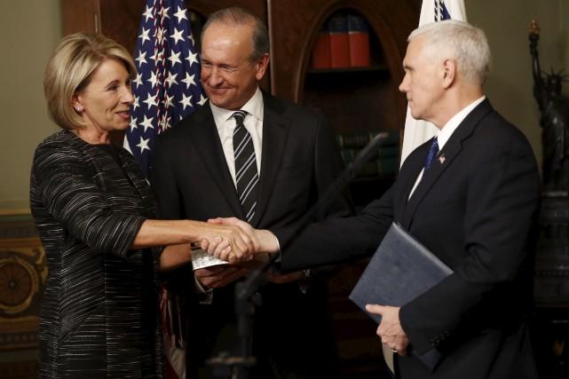 Il a fallu que le vice-président des États-Unis,... (AP, Pablo Martinez Monsivais)