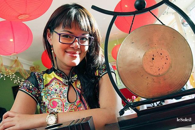 La propriétaire de la petite boîte vietnamienne, Thi... (Photothèque Le Soleil)
