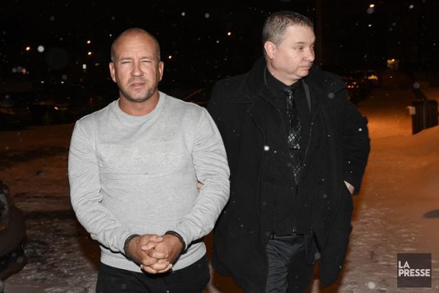 José McCarthya été arrêté mardi soir à l'aéroport... (Photo Bernard Brault, archives La Presse)