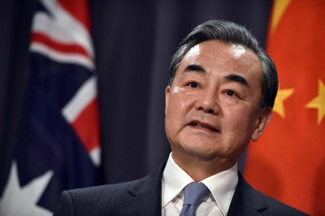 Le ministre chinois des Affaires étrangères,Wang Yi.... (PHOTO AFP)