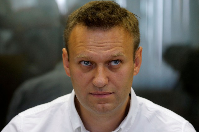 Alexeï Navalny... (Photo Maxim Shemetov, archives REUTERS)