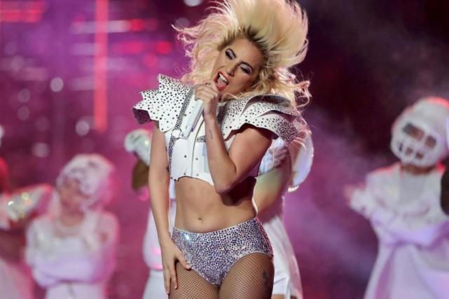 Lady Gaga... (PhotoAdrees Latif, Reuters)