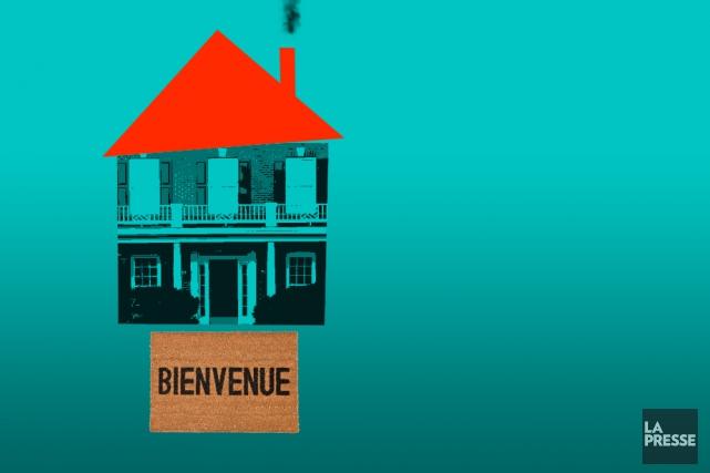Les droits de mutation immobilière - surnommés «taxe de bienvenue» - sont... (ILLUSTRATION LA PRESSE)
