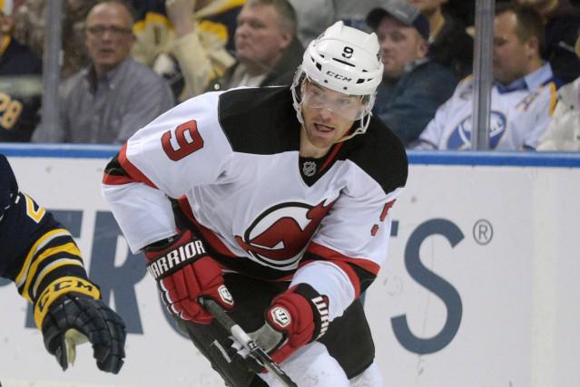 Martin Havlat avec les Devils du New Jersey... (Gary Wiepert, archives AP)