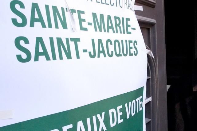 Le Directeur général des élections (DGEQ)propose d'annexer Sainte-Marie-Saint-Jacques... (Archives, Le Soleil)