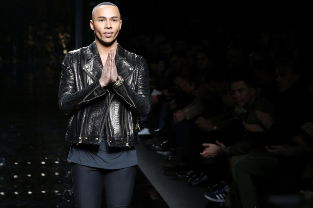 En 2011, la nomination du Français Olivier Rousteing,... (PHOTO ARCHIVES AFP)