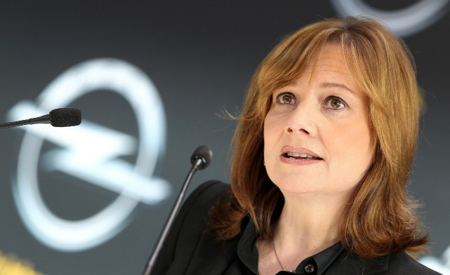 Opel, un embarras pour Mary ? GM a... (PHOTO AFP)