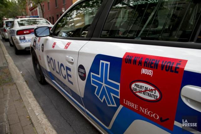 Les policiers ont confirmé avoir déposé une demande... (PHOTO ALAIN ROBERGE, archives LA PRESSE)