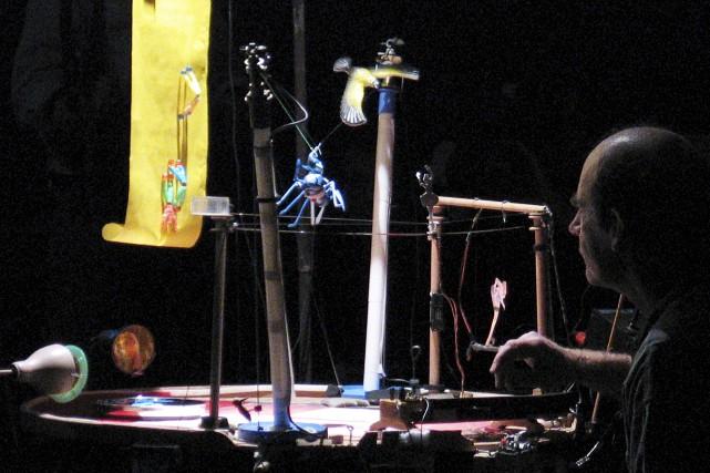 Les représentations du petit cirque auront lieu samedi...