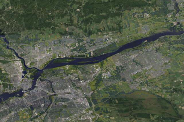 Ottawa-Gatineau vient de se faire déclasser par Calgary dans le palmarès des... (Google Map)