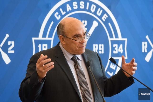Le directeur général Stéphane Boileau est ravi du... (François Gervais, Le Nouvelliste)