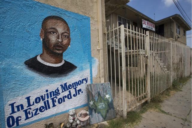 Ezell Ford, qui selon sa famille était atteint... (ARCHIVES AP)