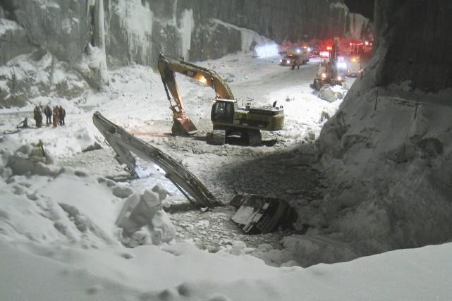 Hydro-Québec change les règles du jeu depuis la... (fournie par la CSST)