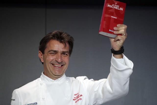 Yannick Alléno, chef du restaurant Le 1947 à... (PHOTO AP)