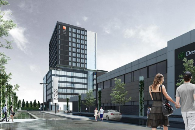 Alt+ Hotel Quartier DIX30 (CNW Group/Groupe Germain)... (Photo CNW)