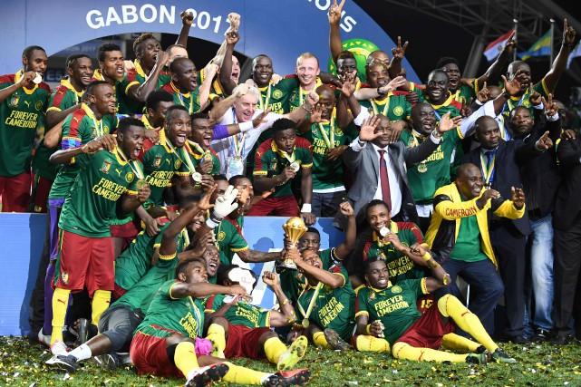 Le Cameroun a remporté la Coupe d'Afrique des... (Photo Gabriel Bouys, AFP)
