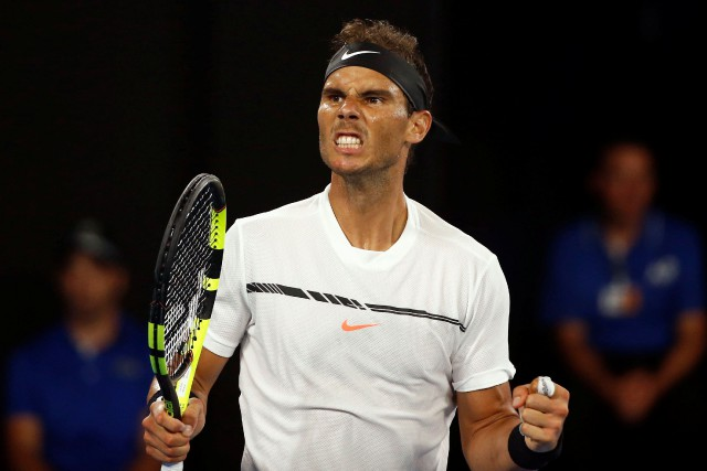 Rafael Nadal... (Photo Thomas Peter, Reuters)