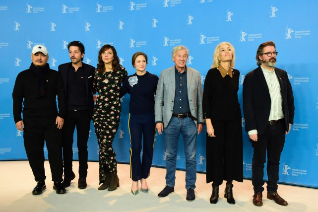 Les membres du jury de la 67e Berlinale:... (PHOTO AFP)