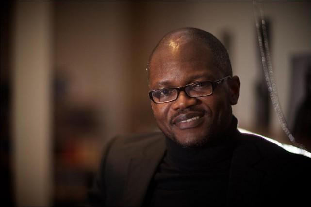 L'auteur Blaise Ndala était de passage à Montréal... (Photo André Pichette, La Presse)