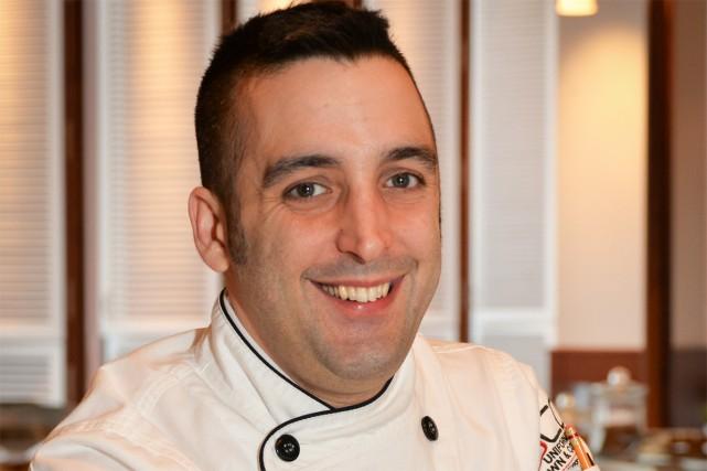 Jonathan Lapierre-Réhayem est depuis peu chef du restaurant... (Photo fournie par l'ITHQ)