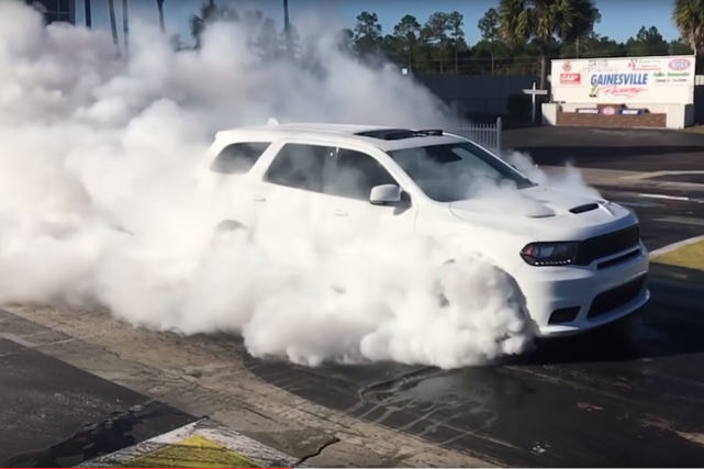 475 chevaux sous le capot. Le Dodge Durango... (Photos : Dodge)
