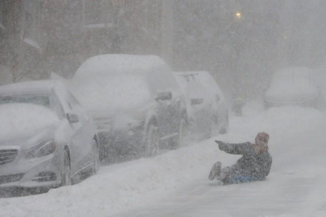 Les prévisions météorologiques font état d'une accumulation possible... (Photo Brian Snyder, Reuters)